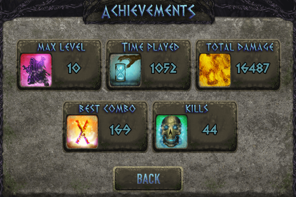 Wizard Quest - Achievements