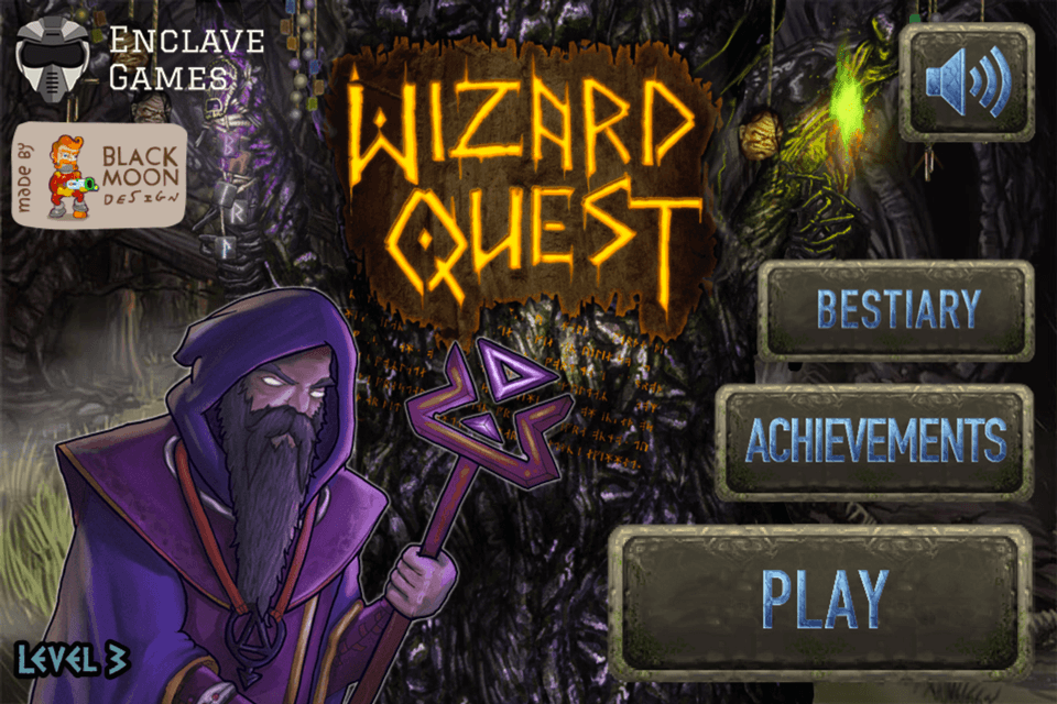 Wizard Quest - Main Menu
